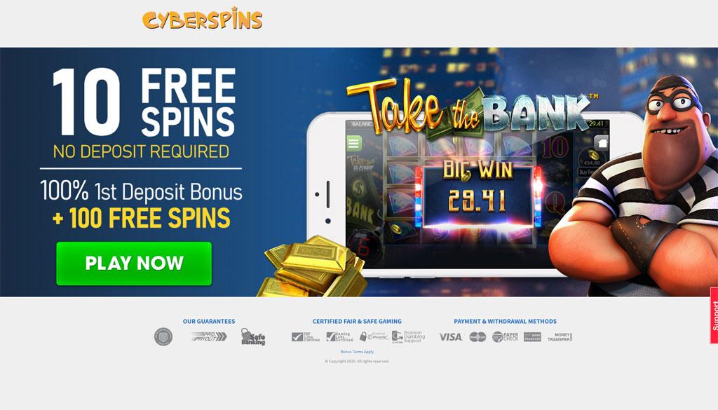 Cyber Spins online