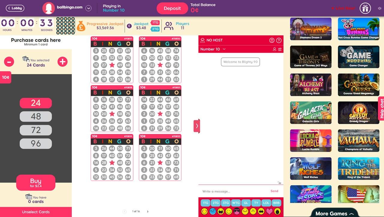 lovehearts bingo 75
