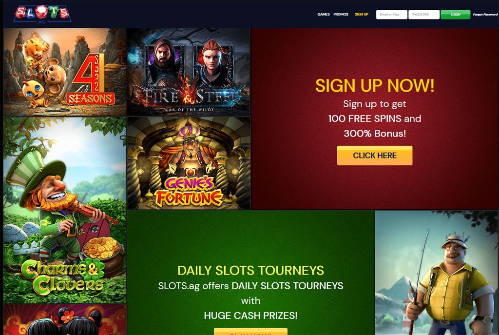 Slots.ag online
