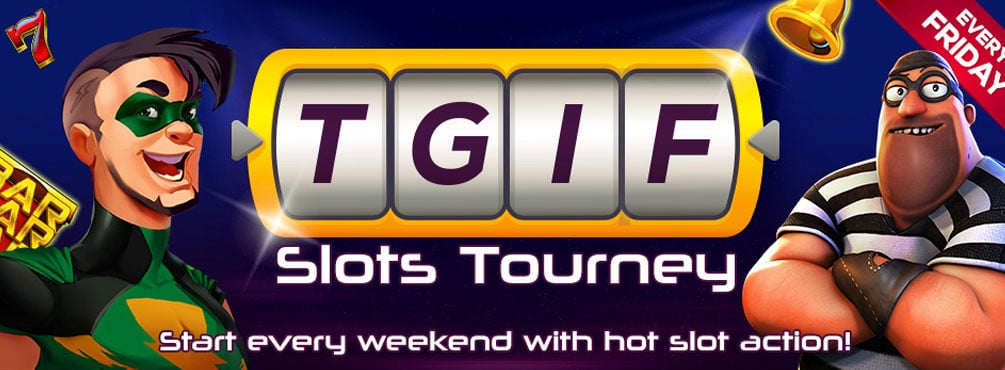 TGIF July 2020 Slots Tourney at CyberSpins Casino