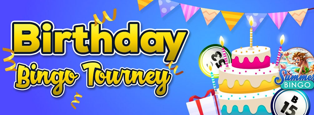 Join in on Cyber Bigno fantastic Birthday Bingo Tourney every day!