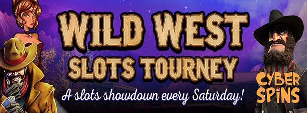 Giddy Up to Wild West Slots Tourney at Cyber Spins Casino