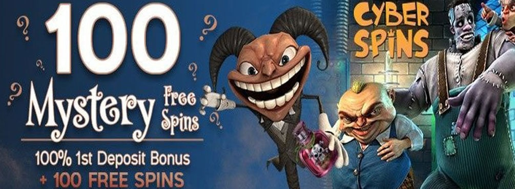 100 Mystery Free Spins for Fang-tastic Wins at Cyber Spins