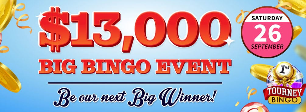 The Big Bingo Event at Bingo Fest – $13,000 Bingo Win Real Money