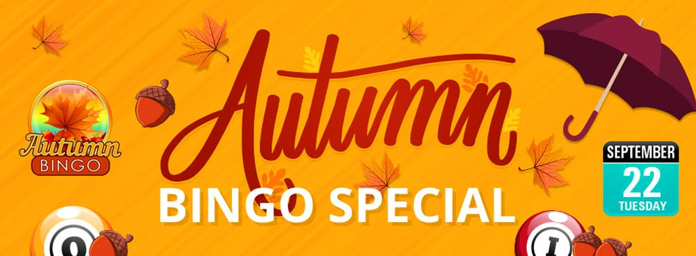 Enjoy an Amazing Bingo Session this Fall at Bingo Spirit
