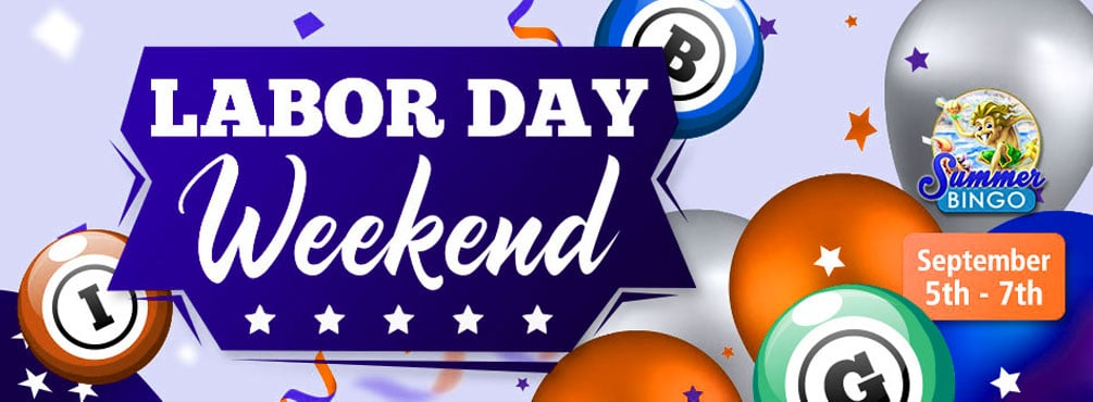 Labor Day Weekend Special Event at Cyber Bingo