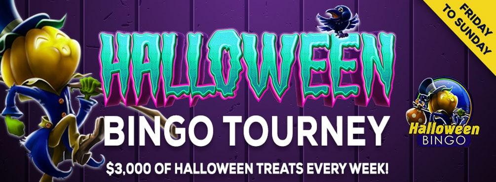Halloween Bingo Tourney – $3,000 Weekly Prize Pool at Bingo Spirit