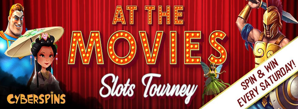 Spellbinding 'At the Movies' Slots Tourney at Cyber Spins Casino