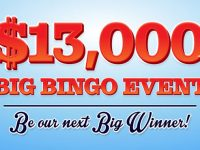 Cyber Bingo is hosting the biggest bingo event of the month