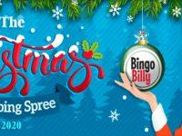 Christmas Shopping Spree special at Bingo Billy