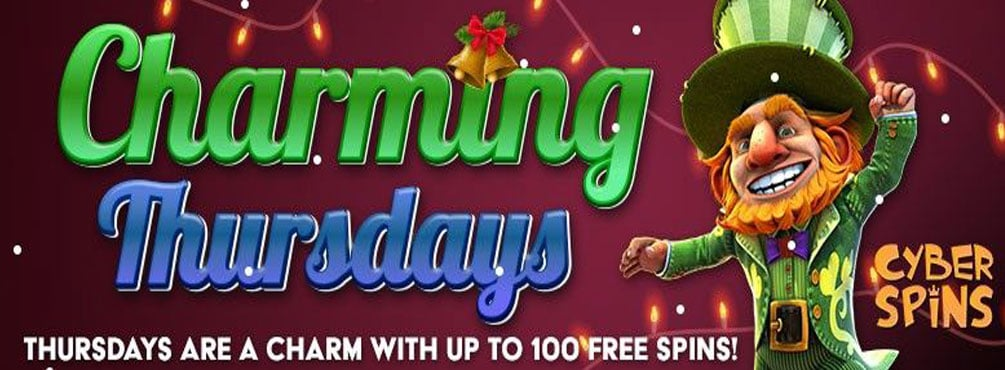 Charming Jackpot Wins with Free Spins at Cyber Spins