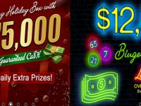 Mystery Holiday Box with $75,000 in GUARANTEED CA$H