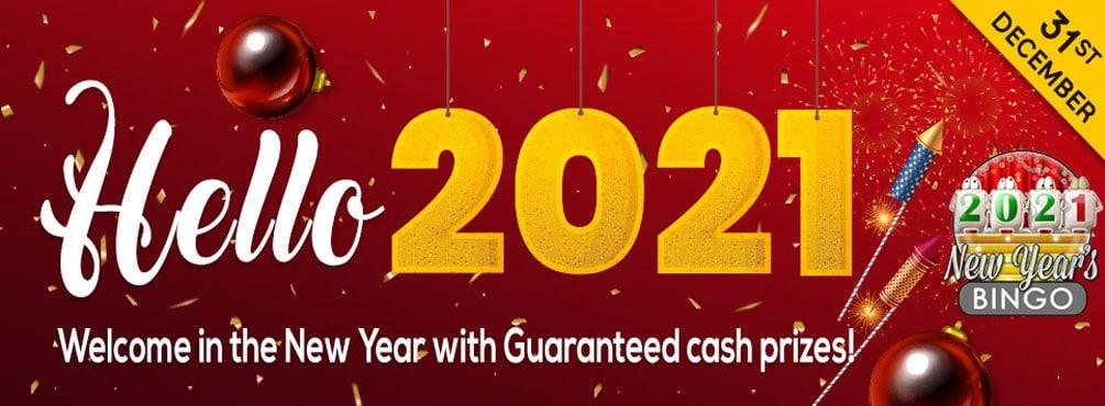Say Goodbye 2020, Hello 2021 at Bingo Spirit