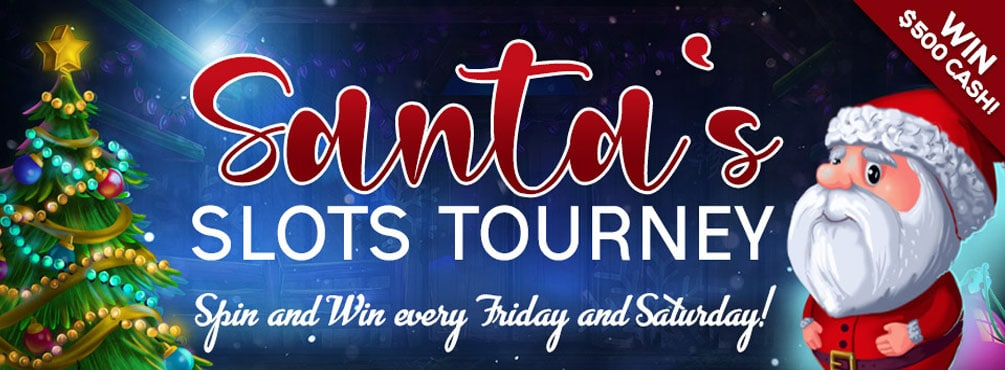 Santa's Slots Tourney – Join our Santa's Slots Tourney for some big prizes!
