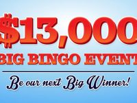 Win big in Bingo Fest $13,000 Big Bingo Event 2021!