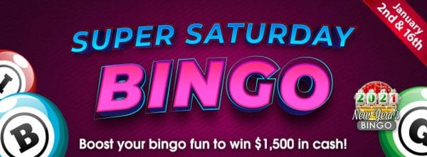 Super Saturday Bingo – Join Bingo Spirit Super Saturday Bingo for serious fun!