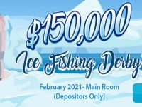 $150,000 Ice Fishing Derby! – February 2021 Main Room