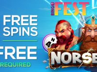Get 100 Free Spins on Norsemen at Bingo Fest in March!