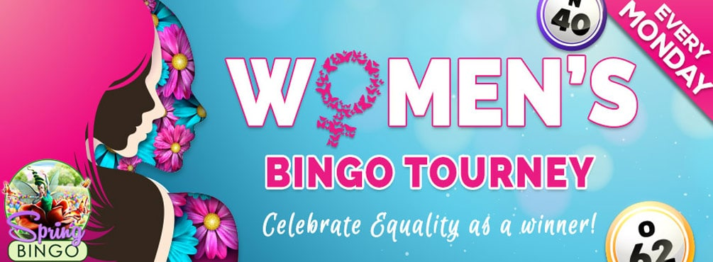 Keep things equal in our Women's Bingo Tourney at Bingo Fest