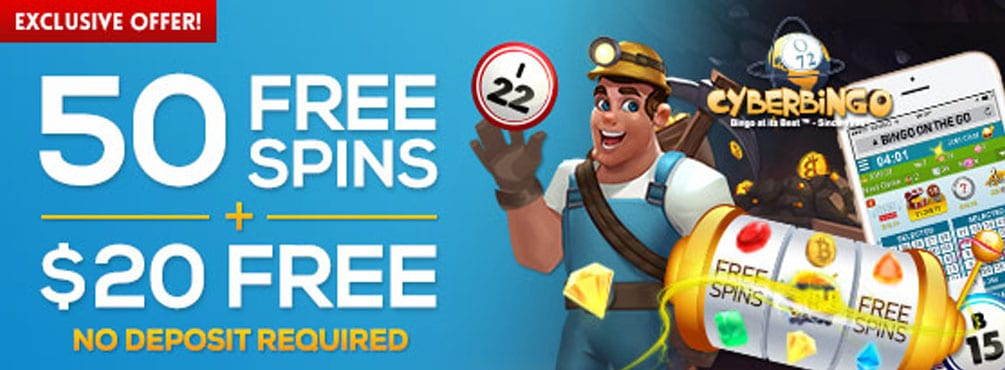 50 Free Spins on the new game Bitcoin Bob at Bingo Fest