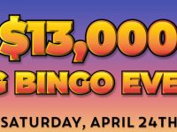 $13,000 Big Bingo Event – Play the biggest guaranteed games of the month!