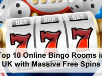 Top 10 Online Bingo Rooms in UK with Massive Free Spins