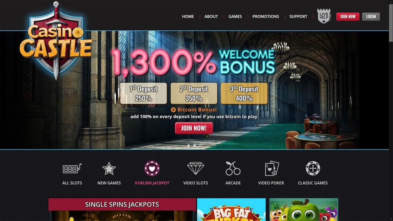 Casino Castle Bingo website