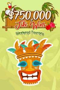 $750,000 Tiki Wins Weekend Tourney! – Fair and Square Bingo