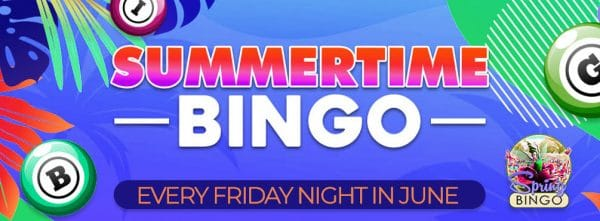 Summertime Bingo – Make summer even more glorious this June!