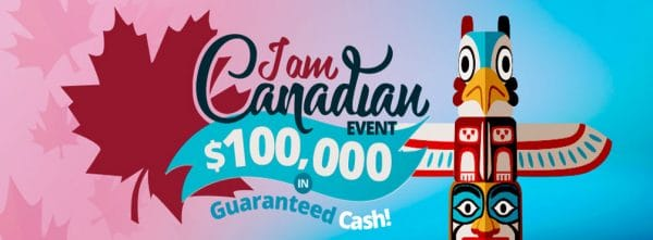 $100,000 I am Canadian! Bingo Tournament – July 2021