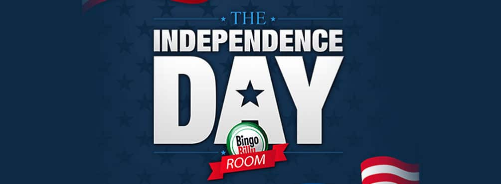 Welcome to Access the 4th of July Room at Bingo Billy
