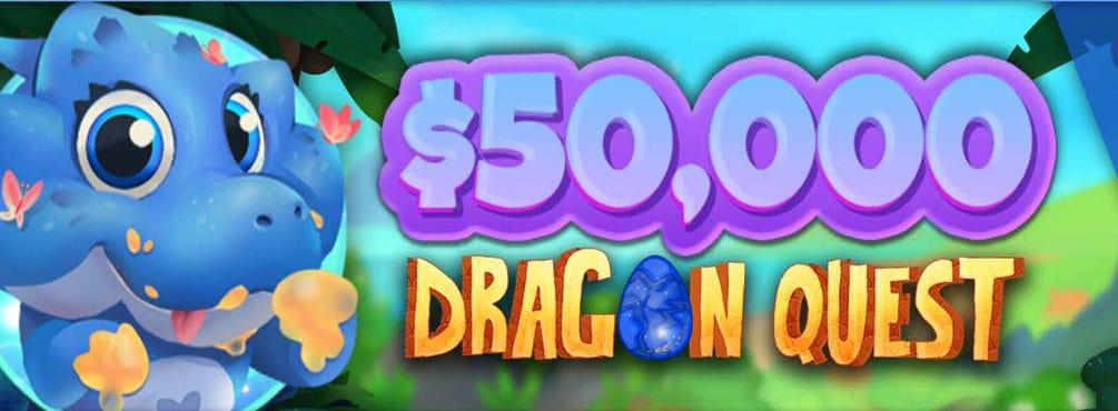 Casino Castle – $50,000 Dragon Quest!