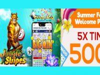 Summer Festival Welcome Bingo Package at Cyber Bingo