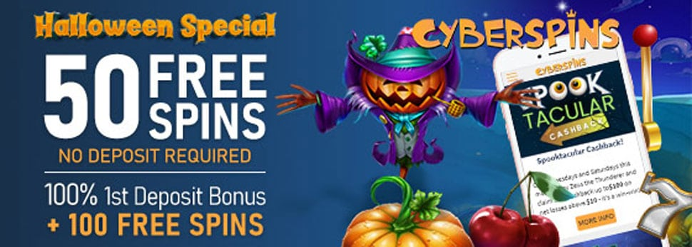 Cyber Spins Exclusive Helloween Offer
