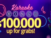 Karaoke Bingo with $100,000 up for grabs