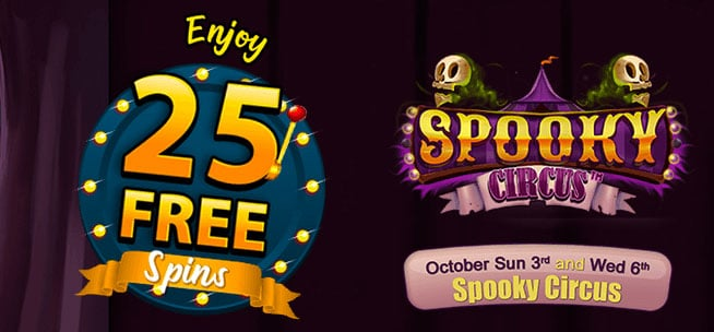 25 Free Spins Limited Time Only