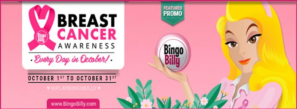 Bingo Billy – Breast Cancer Awareness Month October 2021